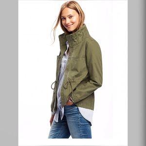 100% Cotton Olive Jacket